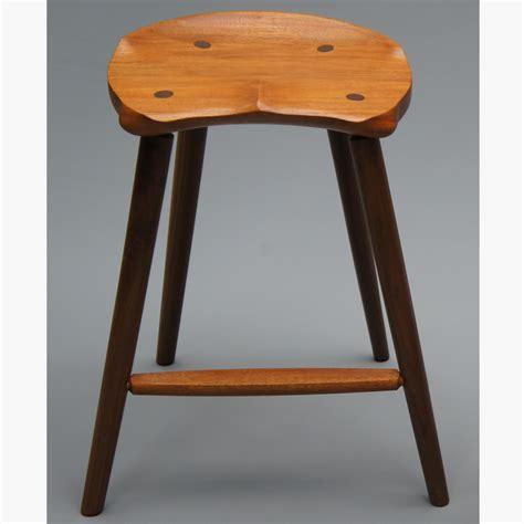 Buy A Custom Made Saddle Seat Bar Stool (counter Height
