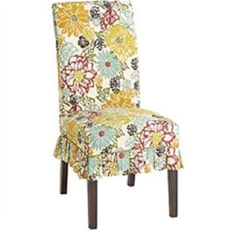 Pier One Furniture Covers floral slipcover eclectic home decor other