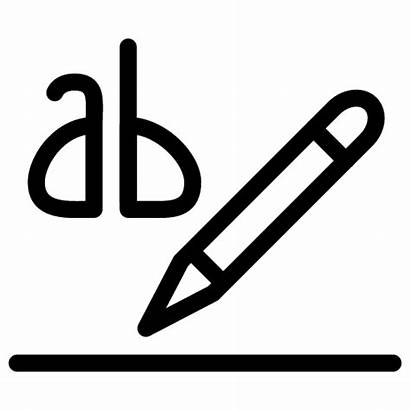 Icon Text Highlight Title Ab Document Head