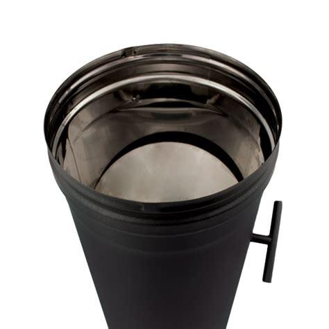 d駻ouleur cuisine inox tuyau régulateur de tirage noir anthracite ø 250