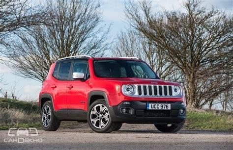 jeep suzuki 2017 jeep to locally manufacture new suvs in india from 2017