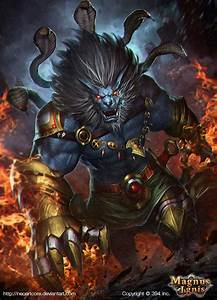 Narasimha by NeoArtCorE on DeviantArt
