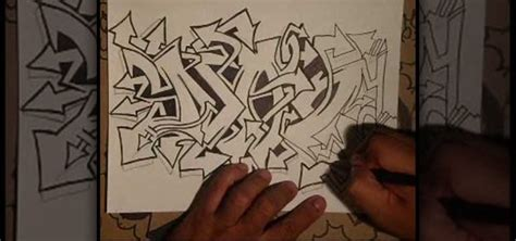 Graffiti Wizard 3d : How To Draw An Elaborate Graffiti Tag With Wizard