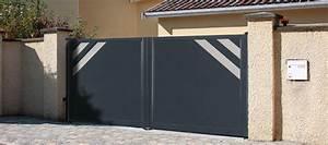 Portail 4 Metres 2 Vantaux : portails garde corps dsm habitat ~ Edinachiropracticcenter.com Idées de Décoration