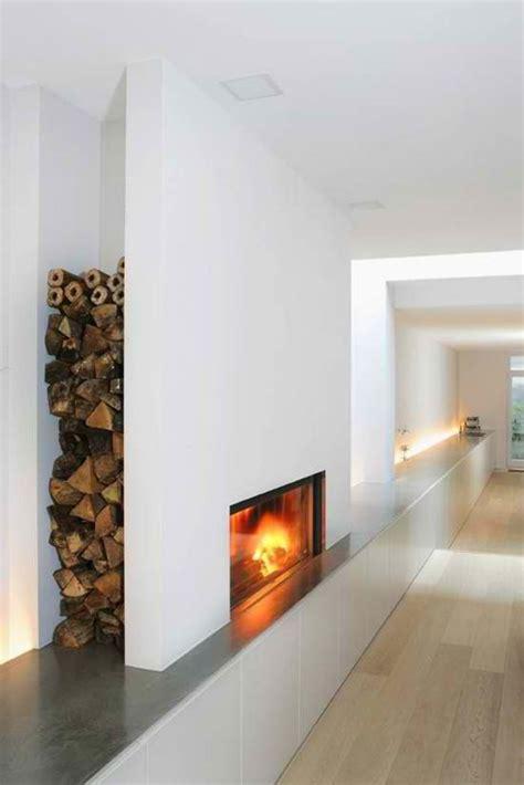 Fireplace Wood Holder Ideas by Le Range Buches D 233 Coratif Id 233 Es Magnifiques En 40 Photos