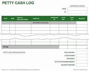Birth Announcement Sample A Free Petty Cash Log Template From Vertex42 Com Excel