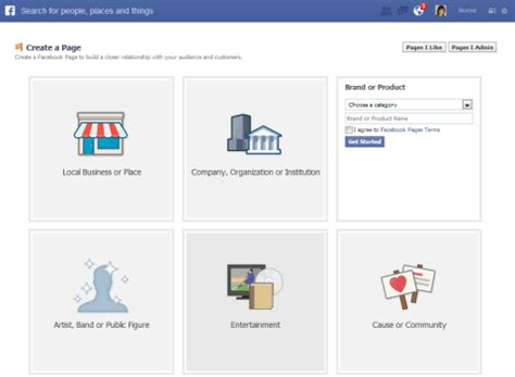 create a fan page on facebook without a profile how to create facebook fan page for business fan page