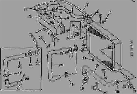 Deere Combine Part Diagram by Radiator Air Conditioner Combine Deere 4400
