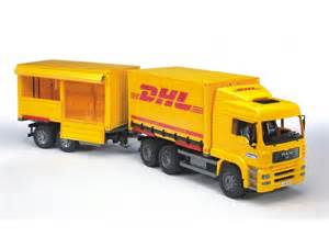 Bruder DHL Truck with Trailer