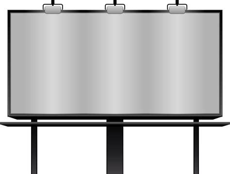 onlinelabels clip art blank billboard