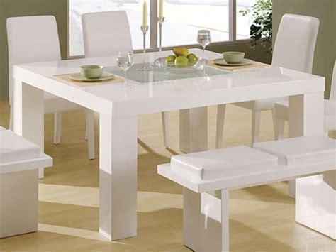 Elegant White Dining Tables  Hometone