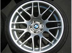BMW OEM CSL Wheels wTires New Never Mounted Pelican