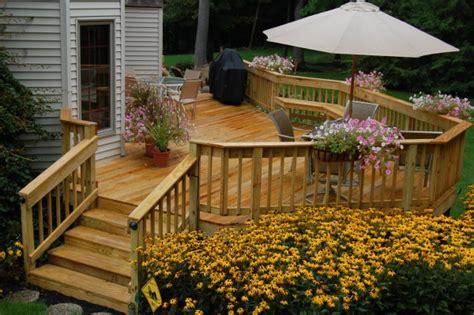 custom wood decks solon hudson auburn chagrin hoehnen landscaping