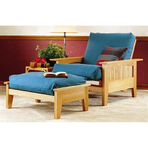 futon chair  ottoman woodworking plan  wood magazine