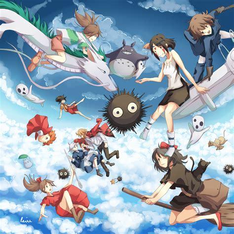 Spirited Away Wallpaper Haku Studio Ghibli Wallpaper Wallpapersafari