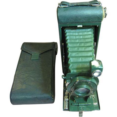 antique pocket kodak camera    carrying case