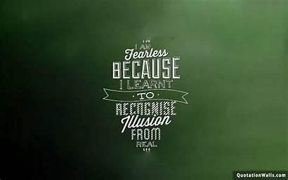 Fearless Attitude Motivational Quotes Wallpapers Desktop Am