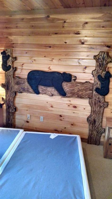 cabin  log beds