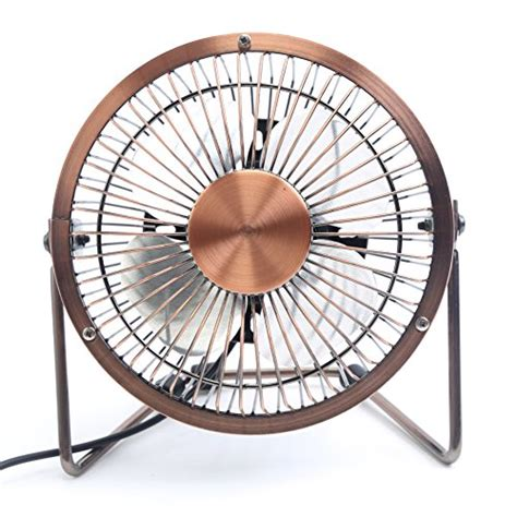 mini desk fan honeyall adjustable usb desk fan metal archaistic fan