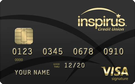 So, while you may see big banks offering a dozen or more different credit. Inspirus Credit Union Releases New Visa Signature Credit ...