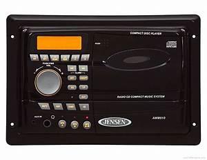 Jensen Awm-910 - Manual - Wall Mount Cd Receiver
