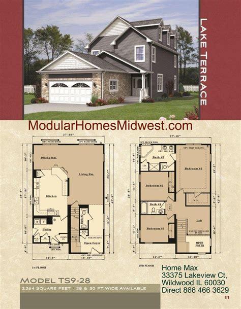 story house plans small lot modular homes illinois photos