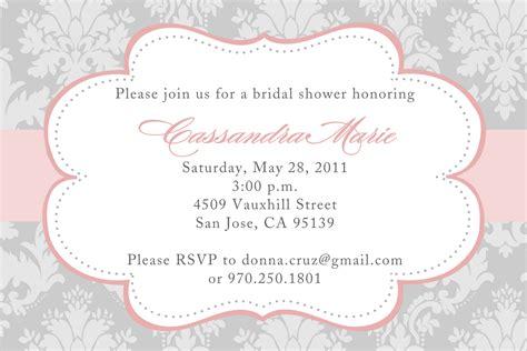 Free Wedding Shower Invitation Templates Weddingwoowcom