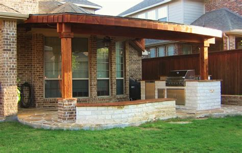 backyard patio roof ideas outdoor brick grill outdoor brick kitchen plans with char broil classic 6 burner gas grill