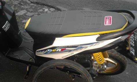 Modifikasi Jok Honda Beat by Jual Jok Slim Beat Fi Injeksi Jok Thailook Beat Fi Injeksi