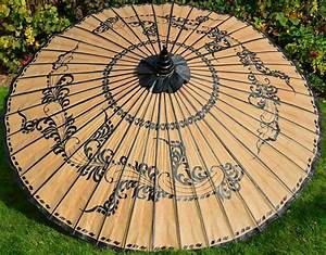asiatische sonnenschirme asiatische sonnenschirme im With französischer balkon mit sonnenschirm asiatisch