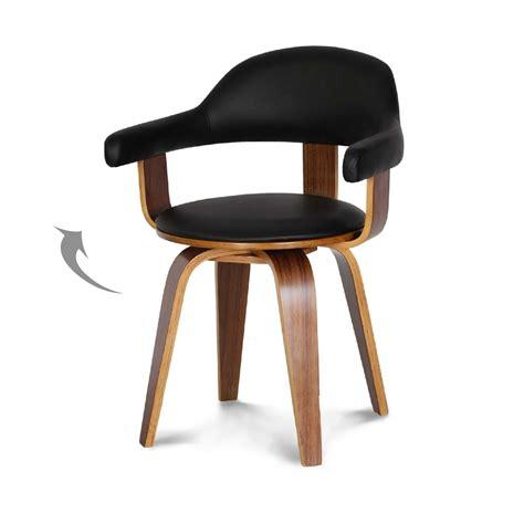 chaise bois design chaise cuir bois