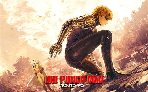 Saitama And Genos Full Hd Wallpaper And Background Image