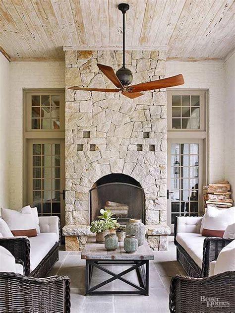 creative outdoor fireplace designs  ideas