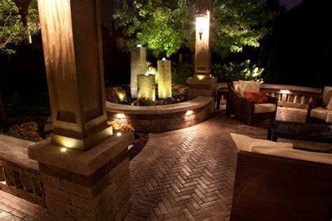 outdoor lighting  baron landscaping cleveland