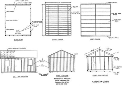 12x24 Shed Plans Materials List by Shed Plans 12 215 24 Timber Sheds The Distinct Styles Of