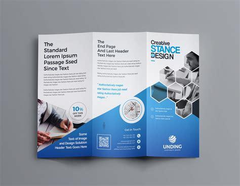 aphrodite business tri fold brochure template