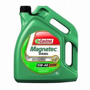 Huile De Moteur Diesel : huile de synth se moteur castrol magnatec diesel 5w40 b4 5l feu vert ~ Melissatoandfro.com Idées de Décoration