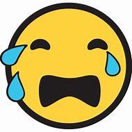 Loudly Crying Emoji Face
