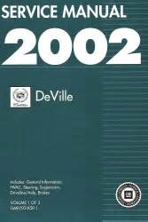 small engine repair manuals free download 2000 cadillac eldorado electronic valve timing 2002 cadillac deville factory service manual
