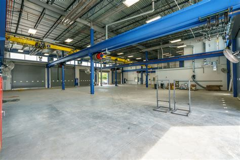 danella vehicle maintenance  wash bay facility