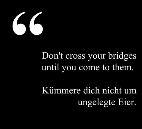 Life Quotes In German With English Translation