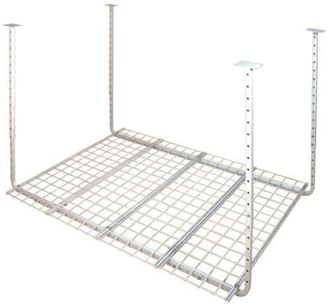 hyloft 45 x 45 ceiling storage unit hyloft 50175 10 60 inch by 45 inch pro ceiling mount shelf