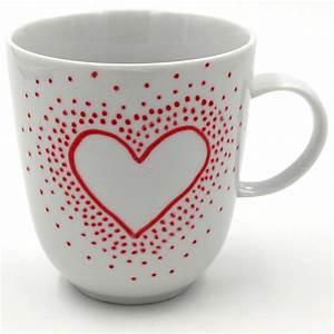 Tassen Zum Selbst Bemalen : die besten 25 tassen selbst bemalen ideen auf pinterest porzellan bemalen tassen design und ~ Markanthonyermac.com Haus und Dekorationen