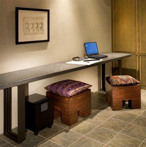 long narrow desk   dreams spaces pinterest