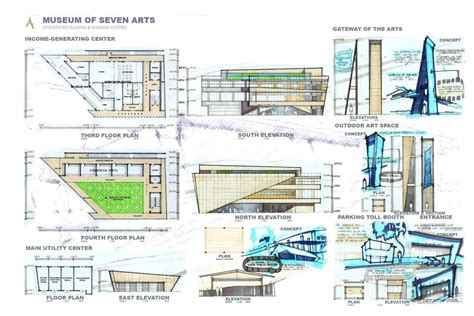 Some of the mfa programs require an additional show at the end of the 2nd year. Museum of Seven Arts - Thesis - Architizer