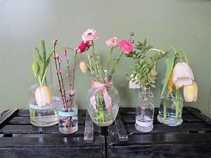 Deko Vasen Mit Blumen : blumen deko glasflaschen ostseesuche com ~ Markanthonyermac.com Haus und Dekorationen