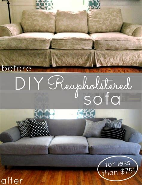 reupholstering a settee best 25 sofa makeover ideas on cheap salon