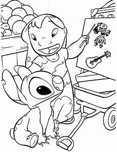 Lilo And Stitch Angel Coloring Pages U2019 Coloringsnet