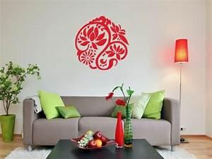 Farbe An Wand : 120 wohnzimmer wandgestaltung ideen ~ Markanthonyermac.com Haus und Dekorationen