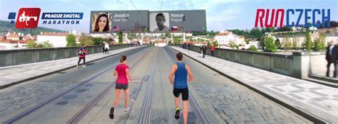 prague digital marathon runczech